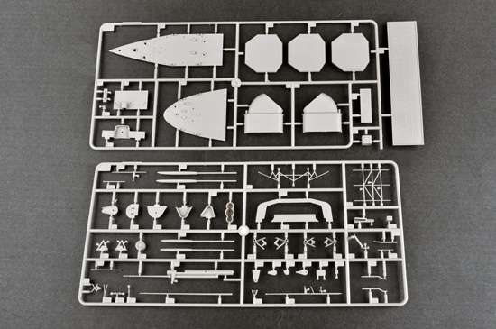 Model Trumpeter 05627 - Aircraft Carrier DKM Graf Zeppelin in scale 1/350 image_tru05627_8-image_Trumpeter_05627_3