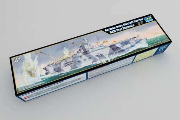 Model Trumpeter 05627 - Aircraft Carrier DKM Graf Zeppelin in scale 1/350 image_tru05627_1-image_Trumpeter_05627_0