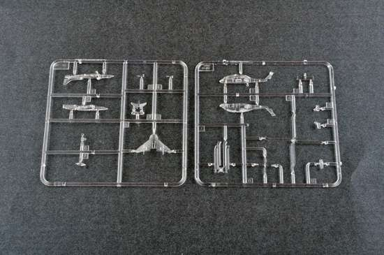 Część wyprasek modelu Trumpeter 06639
