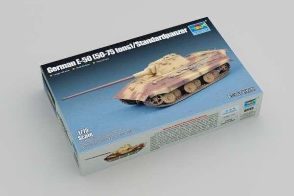 Trumpeter 07123 w skali 1:72 - model E-50 50-75 tons - Standardpanzer do sklejania - image b