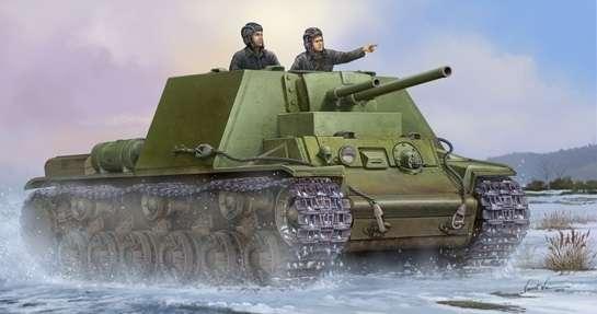 Soviet tank KV-7 Mod 1941 model_do_sklejania_trumpeter_09503_skala_1_35_image_2