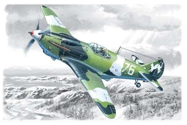 WWII Soviet fighter LaGG-3 ICM 48091