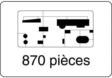 Heller 80889 w skali 1:150 - model Le Glorieux do sklejania - image l