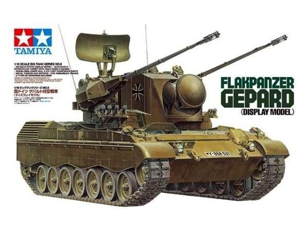Niemieckie samobieżne działo przeciwlotnicze Gepard, plastikowy model do sklejania Tamiya 35099 w skali 1:35