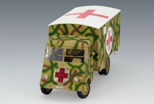 Model ambulansu AHN z okresu WWII