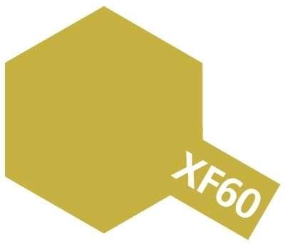 XF-60 Dark Yellow emalia 10ml Tamiya 80360