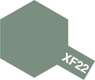 XF-22 Rum Grey emalia 10ml Tamiya 80322