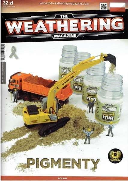 Magazyn modelarski w polskiej wersji językowej - The Weathering Magazine - Pigmenty