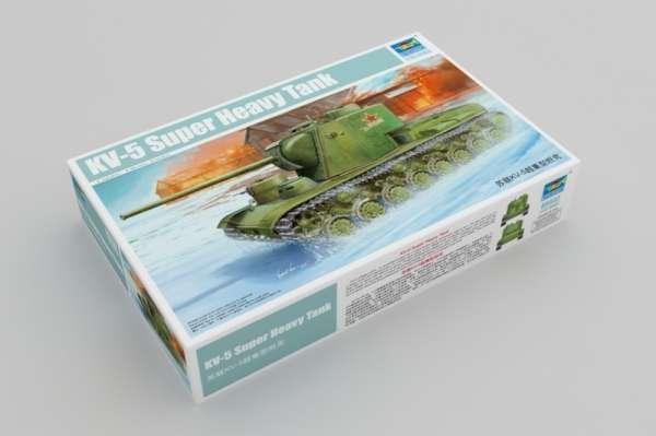 Trumpeter 05552 radziecki czołg ciężki KW-5