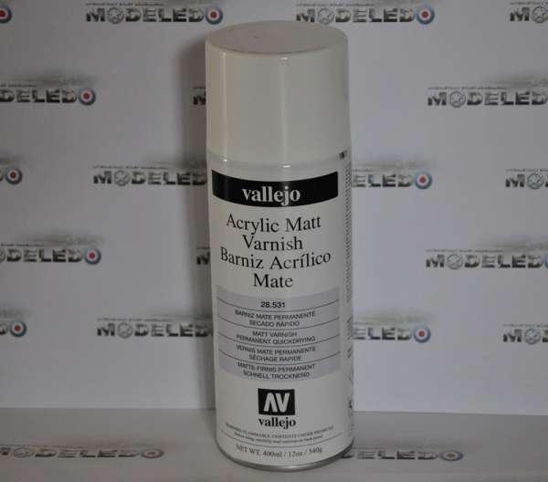 Akrylowy lakier ochronny matowy - spray - Vallejo 28531 400ml-image_Vallejo_28531_1