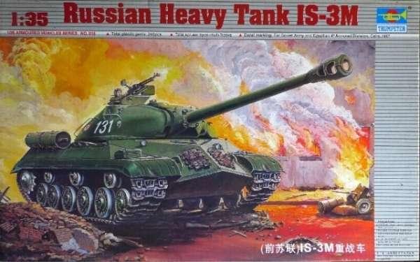 Czołg ciężki IS-3M , plastikowy model do sklejania Trumpeter 00316 w skali 1:35