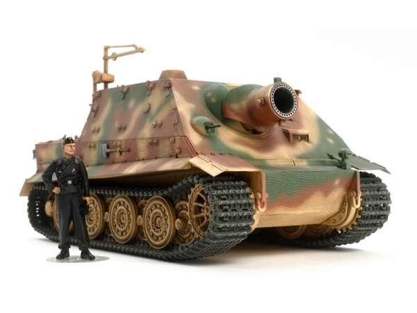 Niemieckie działo pancerne 38cm Sturmtiger , plastikowy model do sklejania Tamiya 32591 w skali 1:48