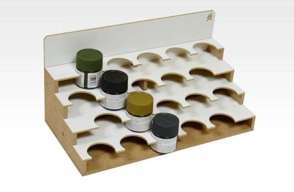 Modułowy organizer na farby 20 x 41 mm- Hobby Zone OM05xb