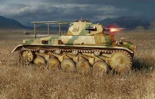 Niemiecki czołg średni Pz.Beob.Wg.II Ausf.C, plastikowy model do sklejania Dragon 6812 w skali 1:35