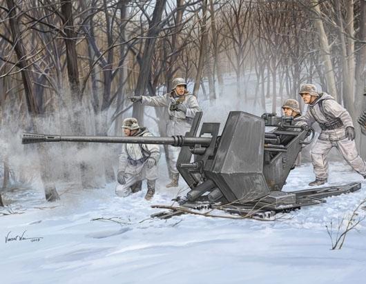 -image_Trumpeter_Trumpeter 02310 German IIWW Anti-Aircraft Gun FLAK 37_1
