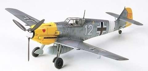 Myśliwiec Messerschmitt Bf 109 E-4/7 Trop, plastikowy model do sklejania Tamiya 60755 w skali 1:72