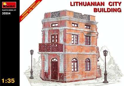 MiniArt 35504 Lithuanian City Building
