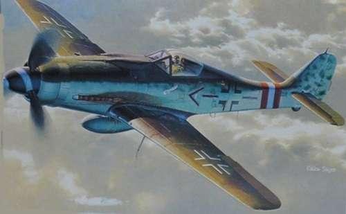 Model myśliwca do sklejania Focke-Wulf FW190 D-9 w skali 1:48, model Dragon 5503
