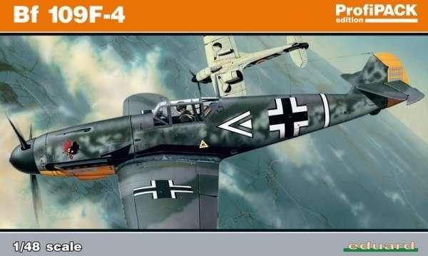 Niemiecki myśliwiec Messerschmitt Bf 109F-4, plastikowy model do sklejania Eduard 82114 w skali 1:48.
