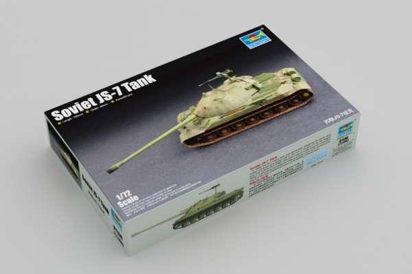 Radziecki czołg IS-7 , plastikowy model do sklejania Trumpeter 07136 w skali 1:72