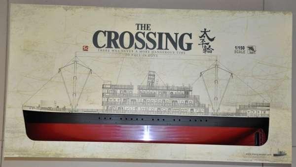 Meng OS-001 Parowiec z oświetleniem - Taiping The Crossing