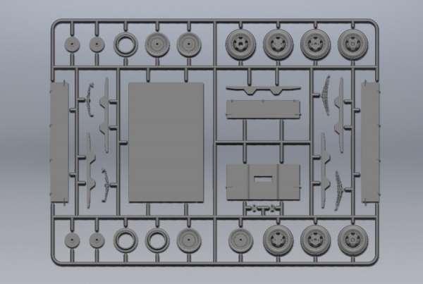 ICM 35412 V3000S/SS M (Sd.Kfz.3b) Maultier