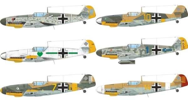 Eduard 82114 Bf 109F-4