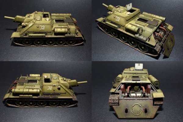 MiniArt 35175 Soviet self-propelled gun SU-122