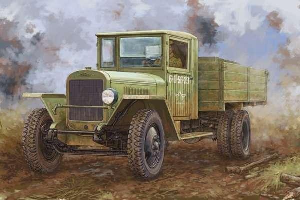 Rosyjski wielozadaniowy samochód ciężarowy ZIS-5B, plastikowy model do sklejania Hobby Boss 83886 w skali 1:35