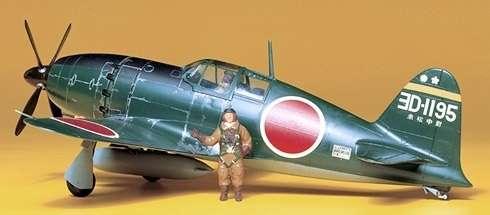 Japoński myśliwiec Mitsubishi J2M3 Interceptor Raiden (Jack), plastikowy model do sklejania Tamiya 61018 w skali 1:48