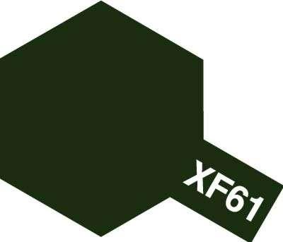 XF-61 Dark Green emalia 10ml Tamiya 80361