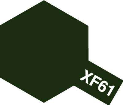 XF-61 Dark Green emalia 10ml Tamiya 80361