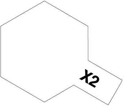 X-2 White 23ml Tamiya 81002