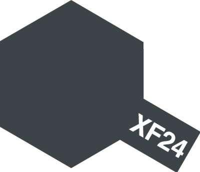 Modelarska matowa farba akrylowa w kolorze XF-24 Dark Grey o pojemności 23ml, Tamiya 81324.-image_Tamiya_81324_1