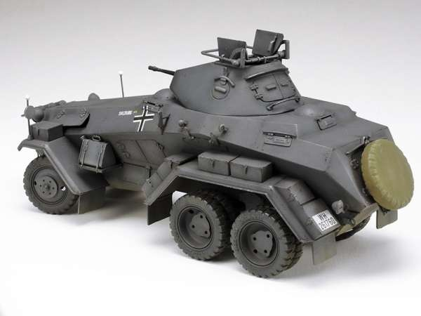 Tamiya 37024 Sd.Kfz.231 German 6-Wheeled Heavy Armored Car