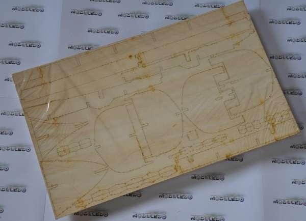 BB730 Esmeralda - drewniany żaglowiec
