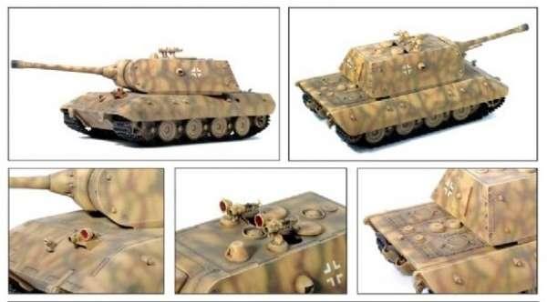 German super heavy tank E-100 in scale 1:35. Dragon 6011