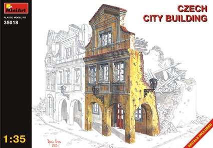 MiniArt 35018 Czech City Building