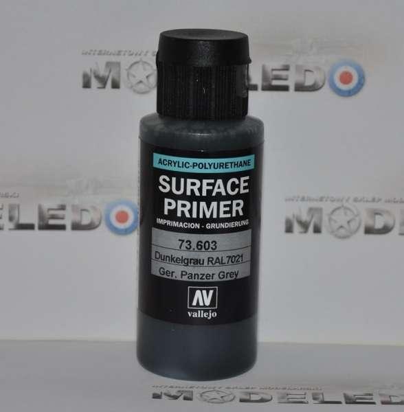 Vallejo 73603 Surface Primer - German Panzer Grey 60 ml