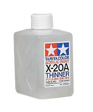 Tamiya Color Acrylic Paint - rozcieńczalnik Thinner X-20A do fabr akrylowych - 81040 - image a