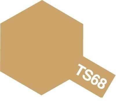 Farba modelarska w sprayu TS-68 Wooden Deck Tan o pojemności 100ml, Tamiya 85068.-image_Tamiya_85068_1
