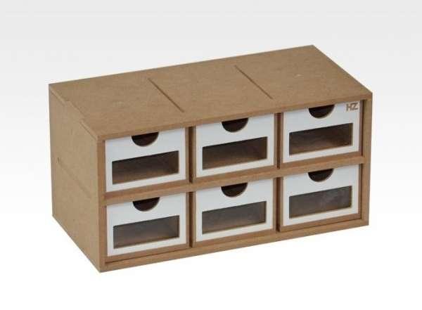 Modułowy szufladkowy organizer - Hobby Zone OM01a