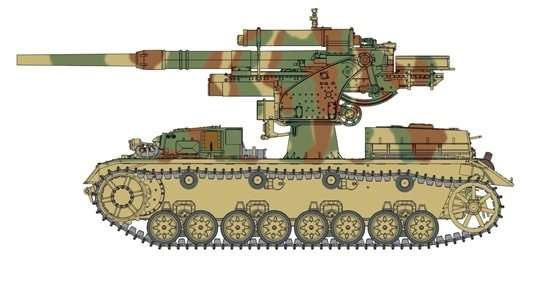 Model Dragon 6829 8.8cm Flak 36 auf Pz.Kpfw.IV ausf. H