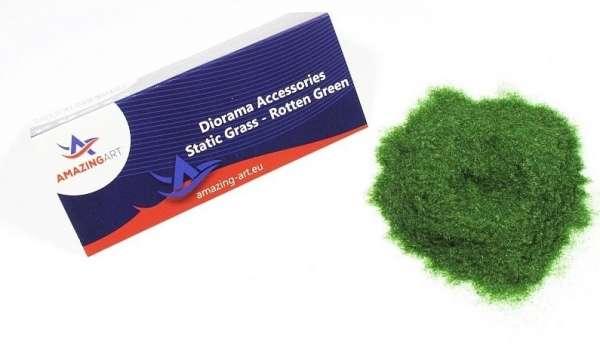 Sztuczna trawa statyczna - zgniła zieleń 1mm - Amazing Art 13678