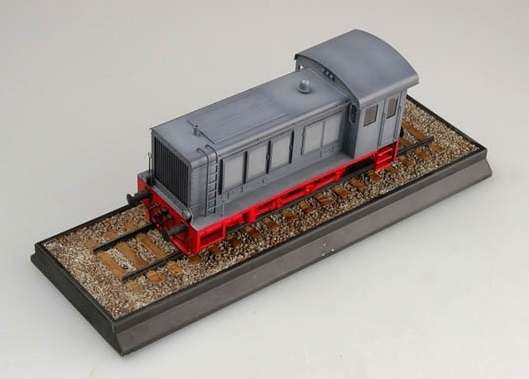 Trumpeter 00216 w skali 1:35 - model German WR 360 C12 Locomotive do sklejania - image a