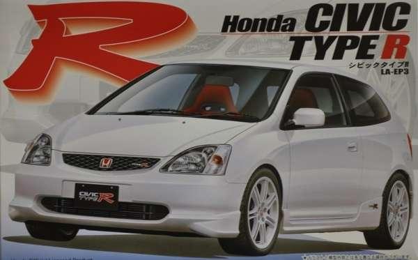 Japoński samochód Honda Civic Type R, plastikowy model do sklejania Fujimi 03539 w skali 1:24-image_Fujimi_03539_1