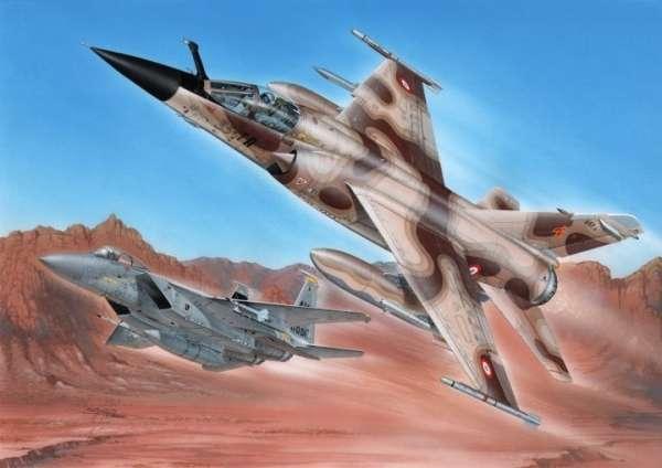 Francuski myśliwiec rozpoznawczy Mirage F.1CR, plastikowy model do sklejania Special Hobby SH72347 w skali 1:72