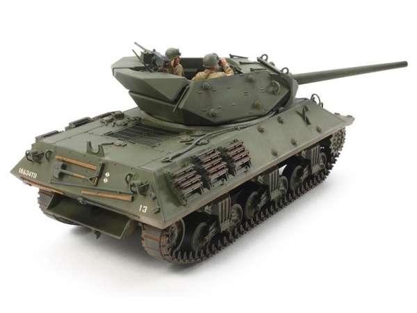 Amerykański niszczyciel czołgów M10 Wolverine, plastikowy model do sklejania Tamiya 35350 w skali 1:35.