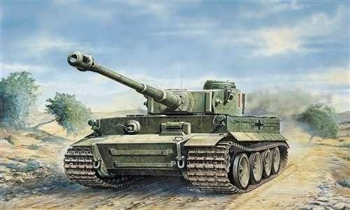 Model czołgu Tiger I wersja E/H1 do sklejania w skali 1/35.-image_Italeri_0286_1