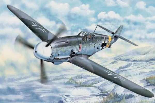 German fighter Messerschmitt Bf 109 G-2 plastikowy_model-do_sklejania_trumpeter_02294_image_1-image_Trumpeter_02294_1